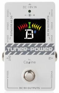Caline Pedal Tuner mit DC Versorgung